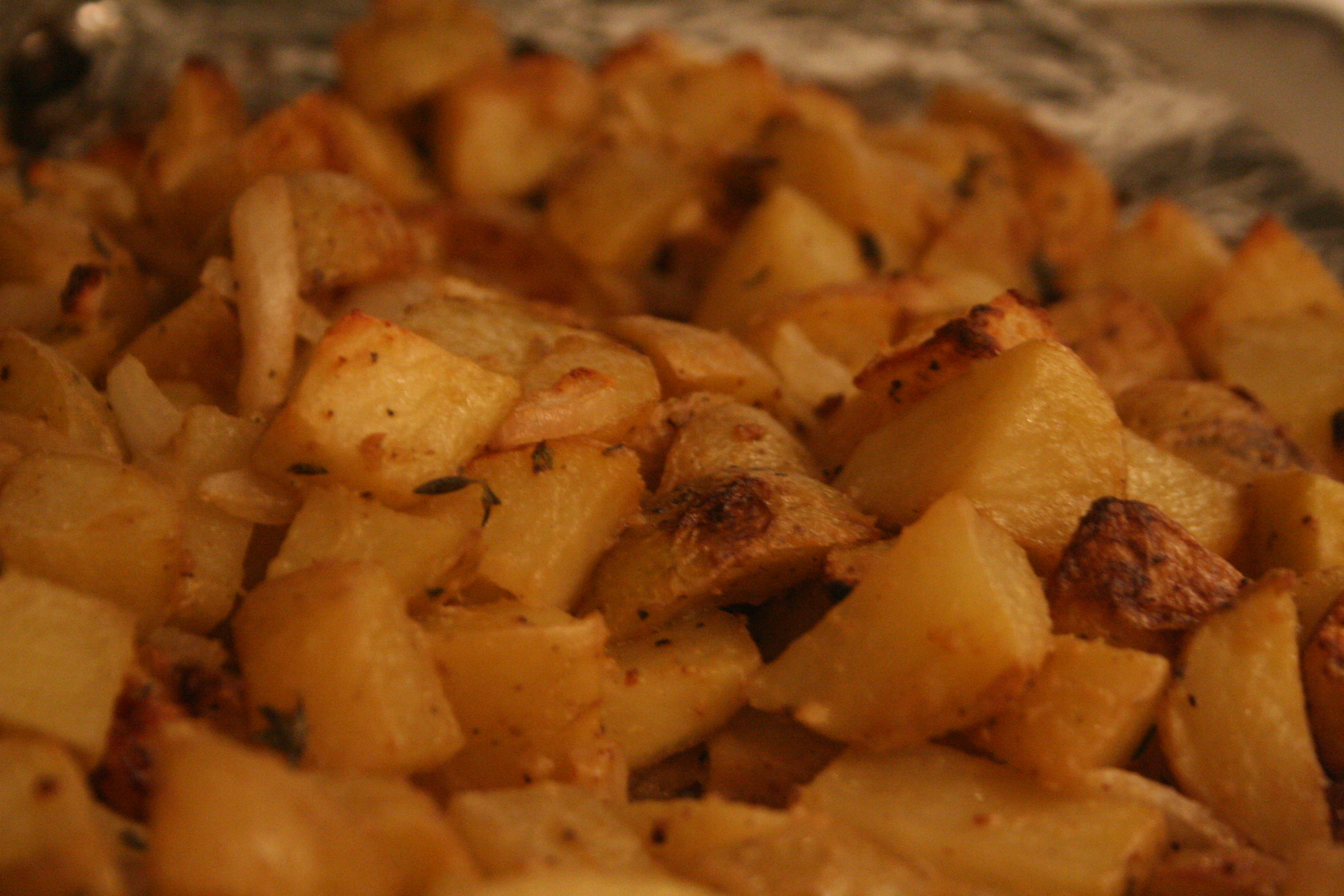 Roasted Mustard Potatoes1