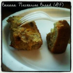 nectarine banana bread