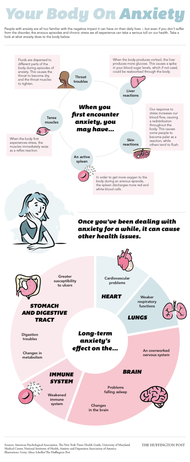 Your Body on Anxiety